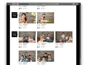 子供専門写真館スタジオバンビのオンラインアルバム