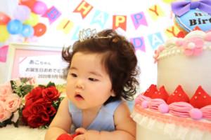 子供専門写真館スタジオバンビのお誕生日撮影