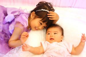 子供専門写真館スタジオバンビの姉弟撮影