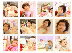 子供専門写真スタジオ スタジオバンビのギャラリーページ