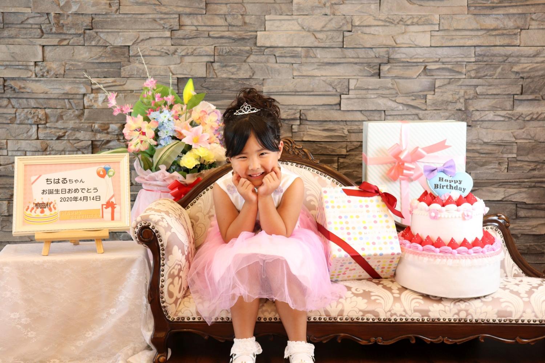 子供専門写真スタジオ スタジオバンビのバースデーフォト