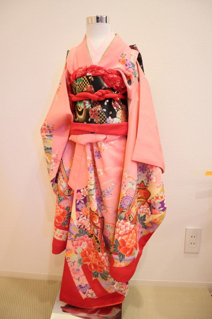 スタジオバンビの七五三 7歳女の子用着物