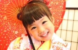 子供専門写真館スタジオバンビの七五三撮影