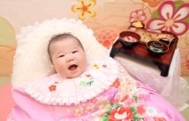 子供専門写真館スタジオバンビのお宮参り