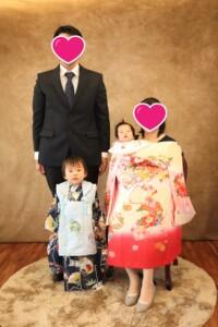 子供専門写真館スタジオバンビ_お宮参り