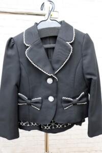 入学式・卒業式用スーツ 女の子用120cm