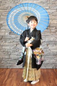 5歳男の子の七五三撮影