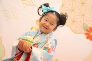 3歳女の子の七五三撮影